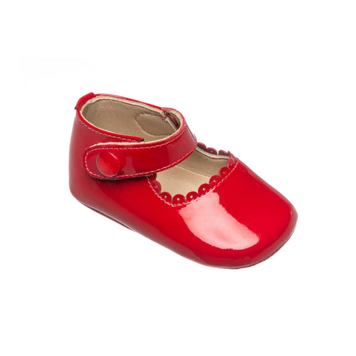 Mary Jane for Baby - Patent Red