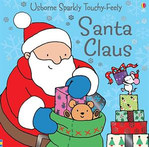 Sparkly Touchy-Feely Santa Claus