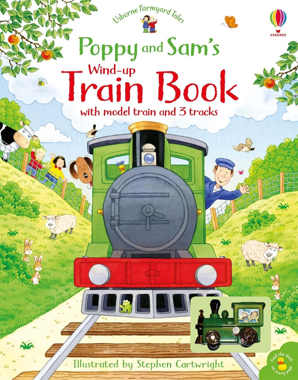 Poppy and Sam's Wind-Up Train Book