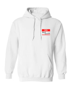 Ben Dover White Hoodie