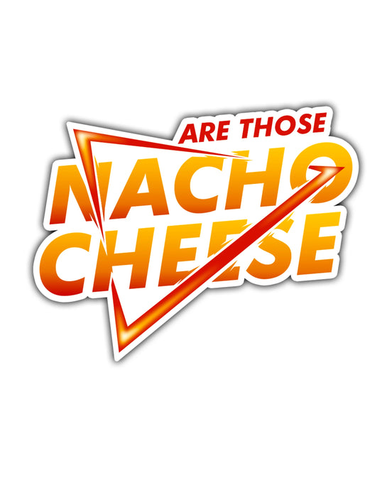 Nacho Cheese Stickers (1, 5, or 10 pack)