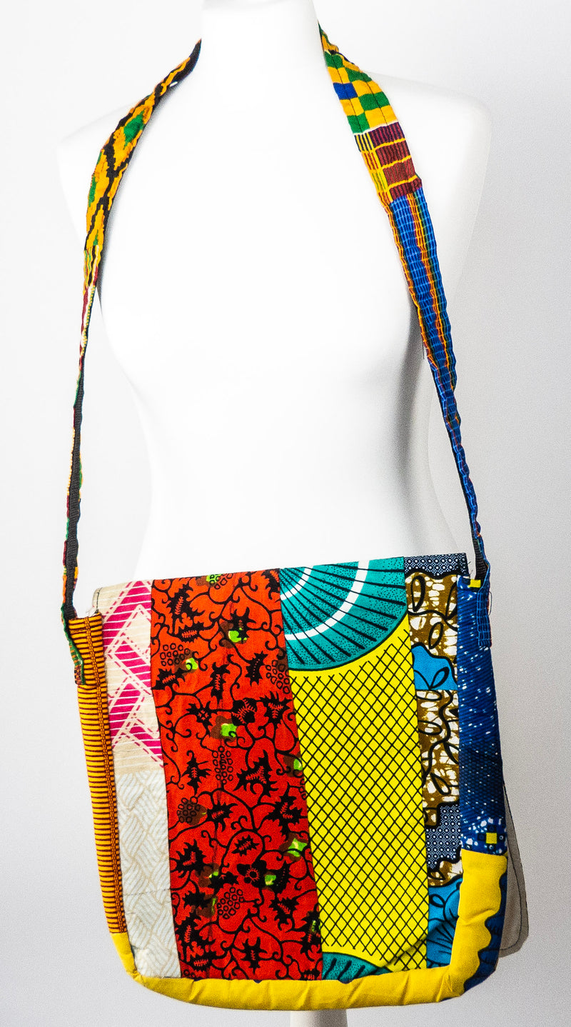 Cross body Africa bag