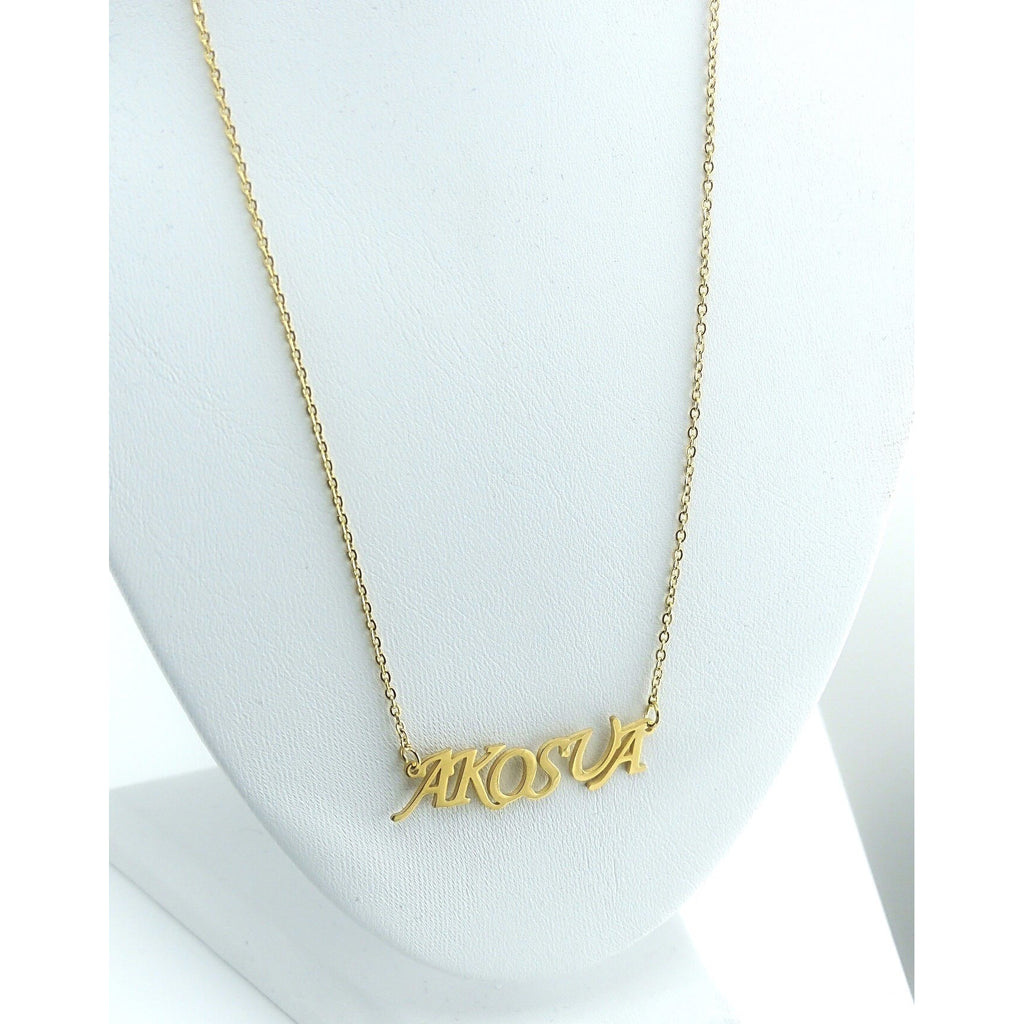 Day Name Necklace