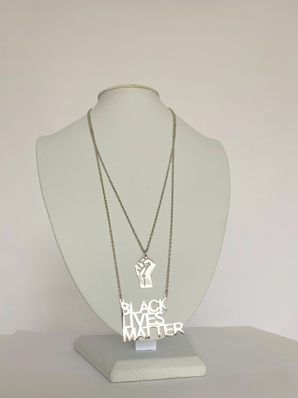 Black Lives Matter Necklace Set