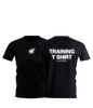 10X TRAINING T-SHIRT, BLACK