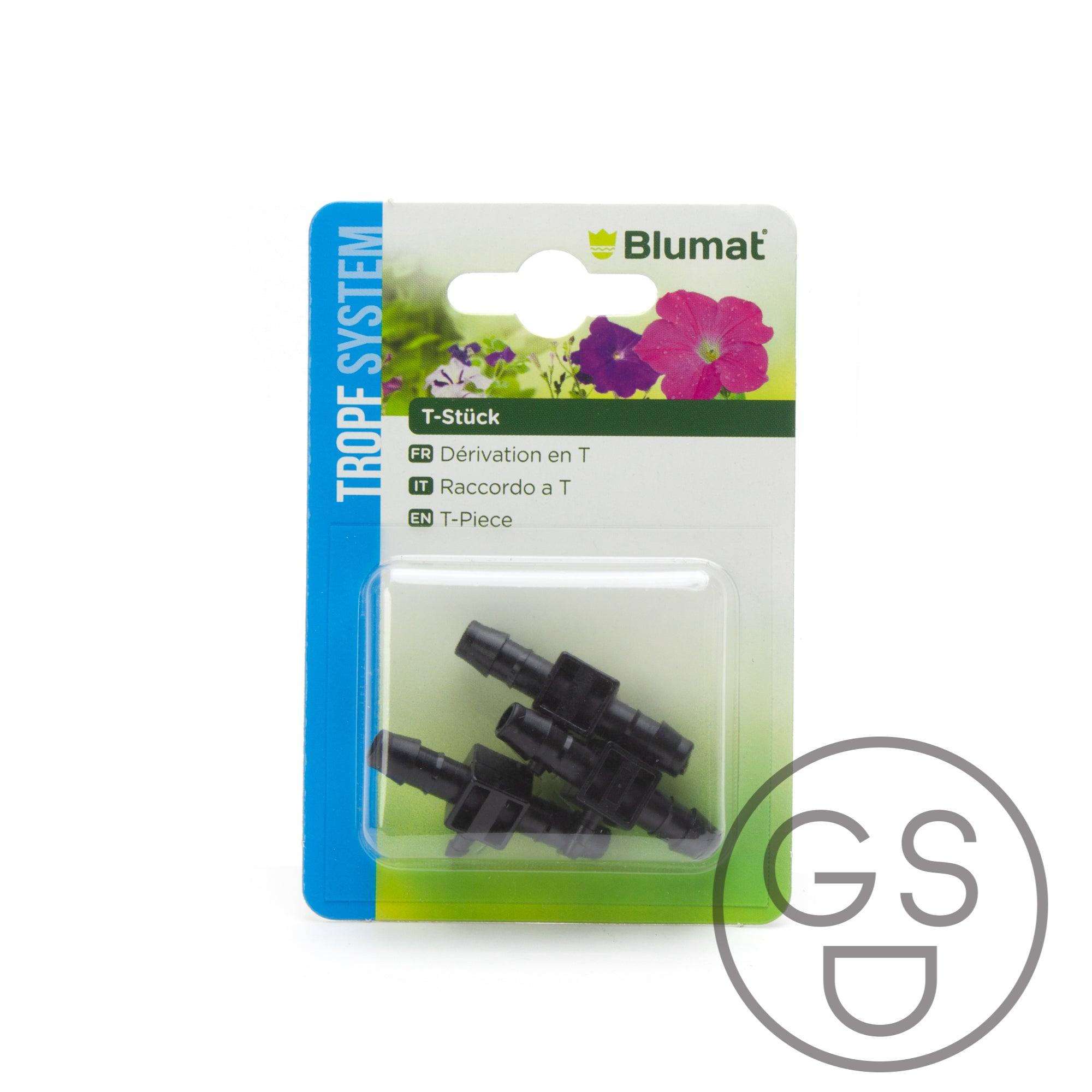 Tropf Blumat - 8mm-3mm-8mm T Junction - 3 pack