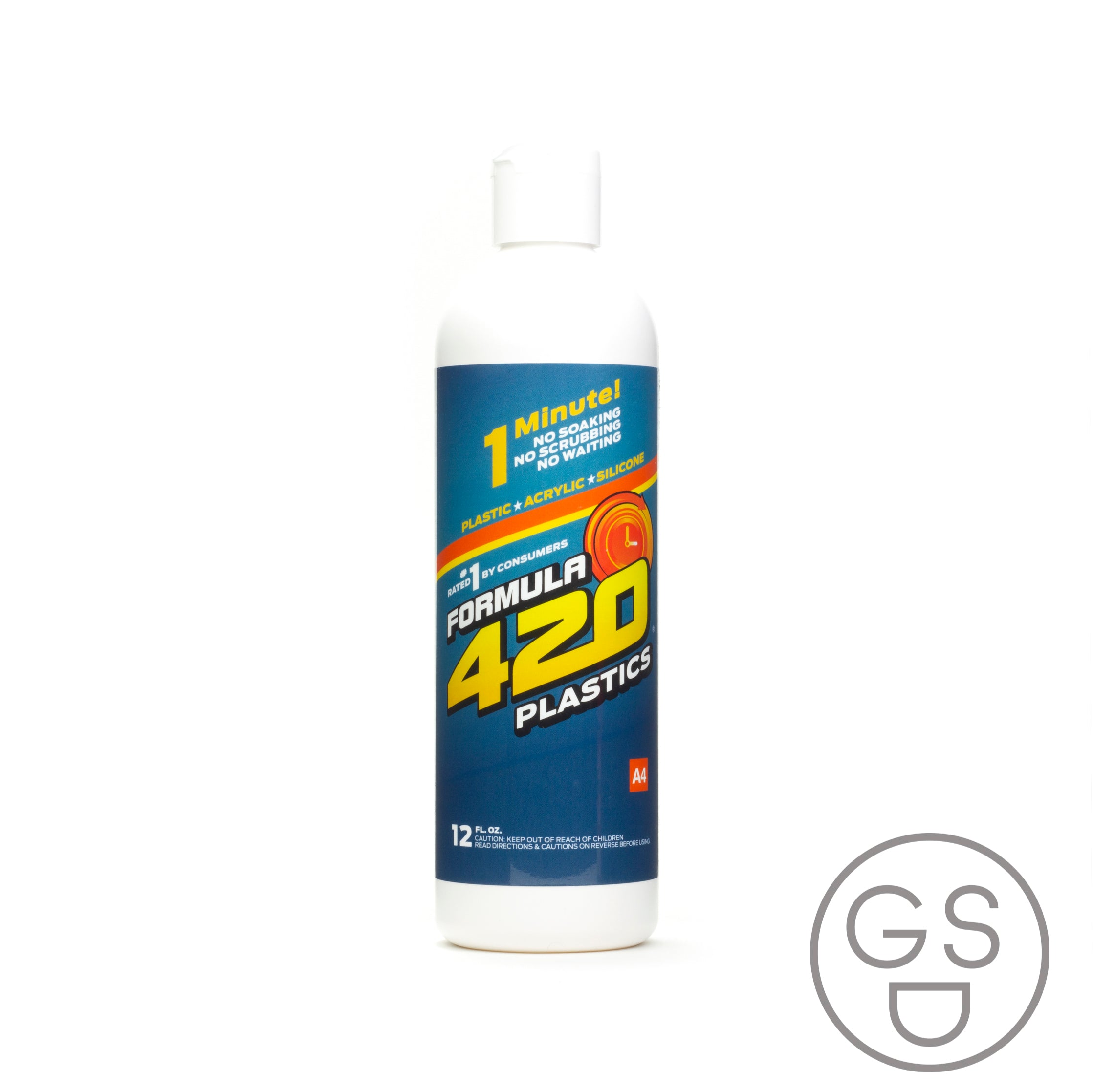 F-420 Plastics/Acrylic/Silicon Cleaner - 12oz/354ml