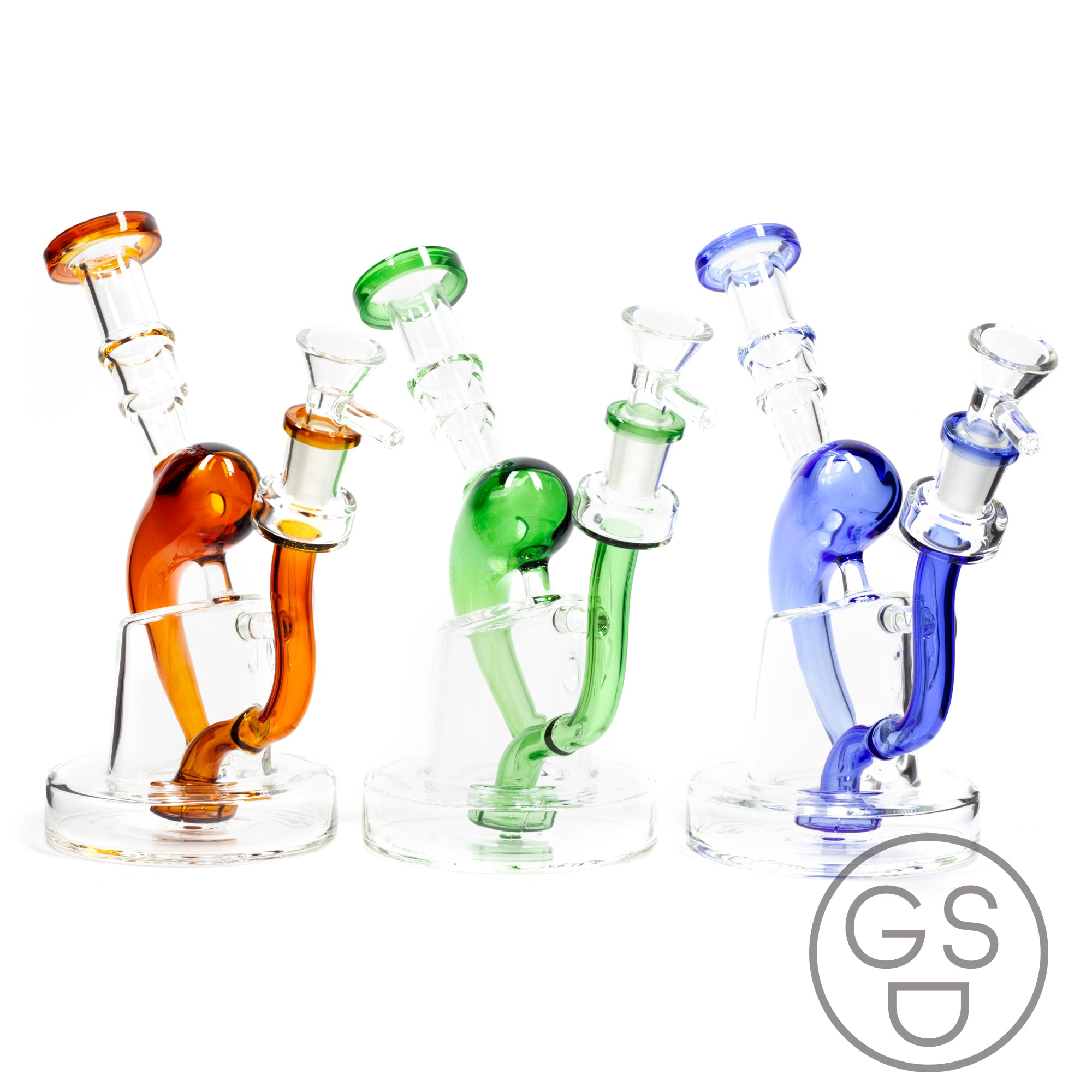Elegant Recycler Waterpipe