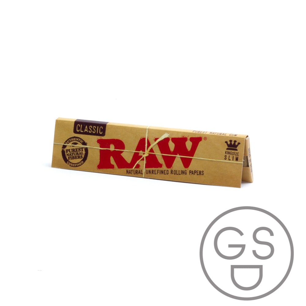 Raw Kingsize Slim - Classic - 32 Leaves