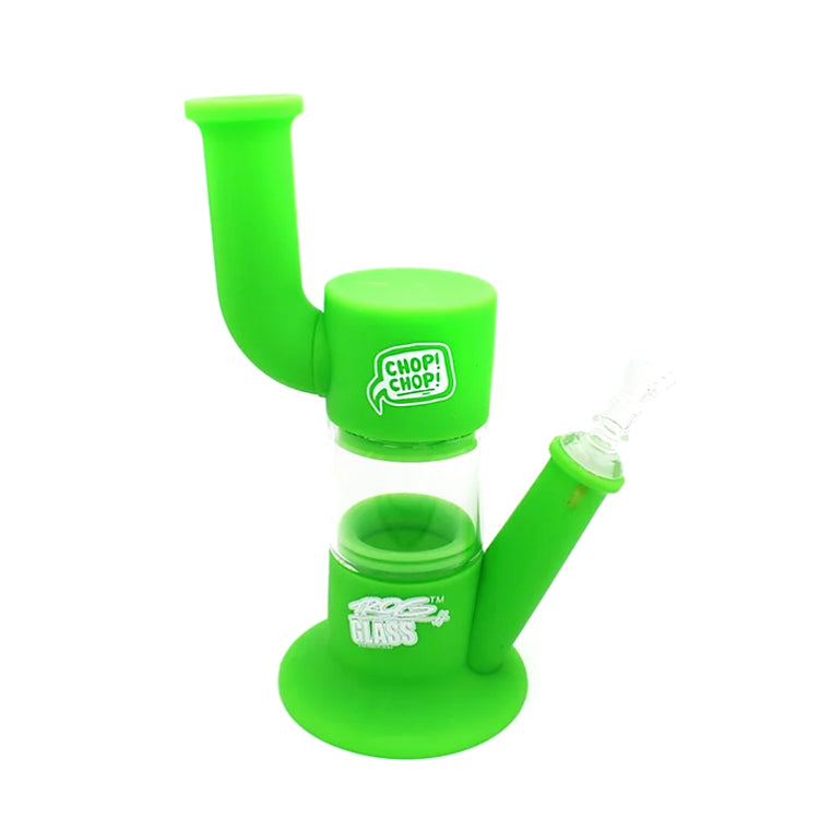 Trog Glass - Silicon/Glass Waterpipe - Dutchie Series