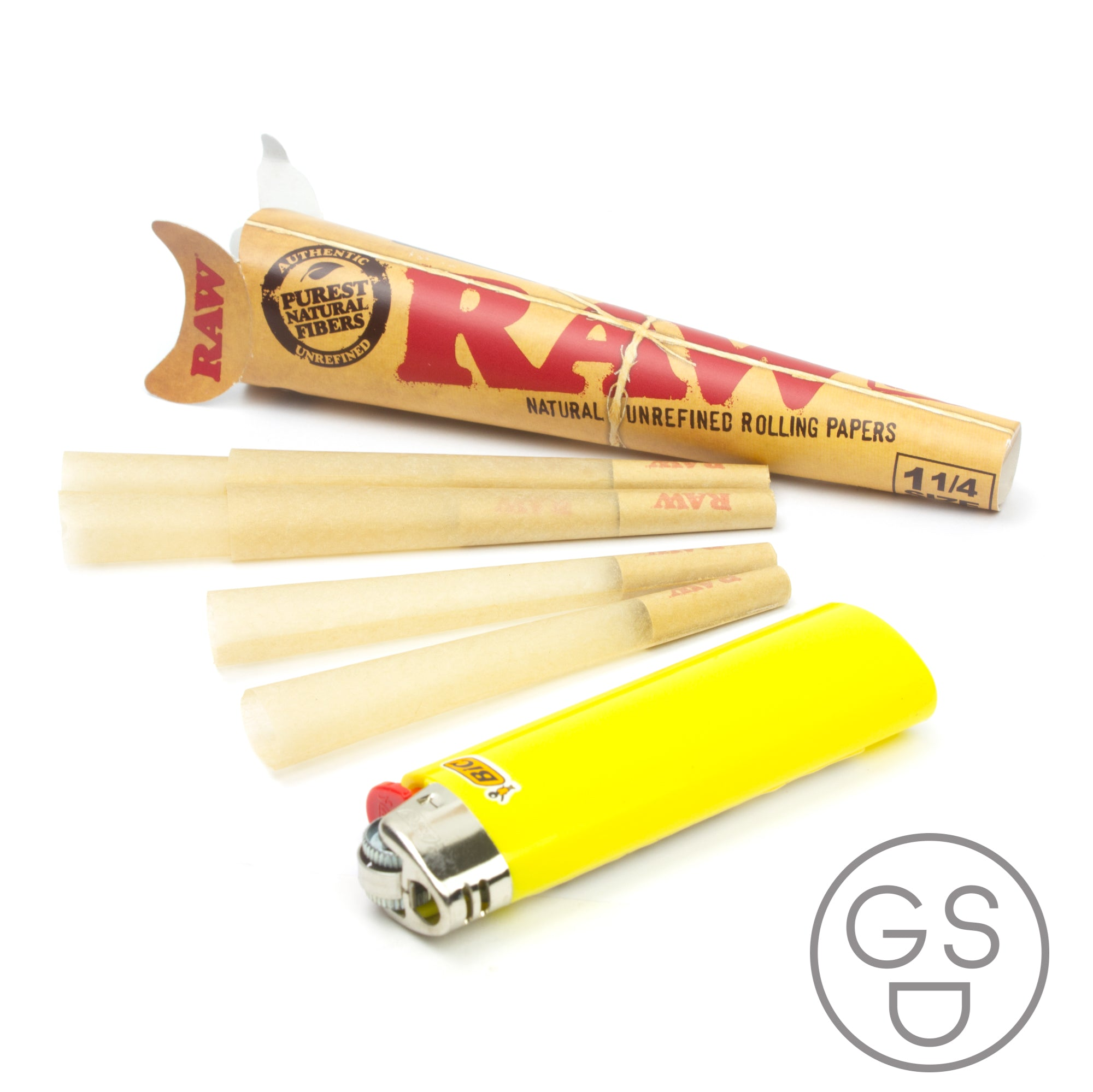 RAW 1 1/4 Cones - 6 Pack