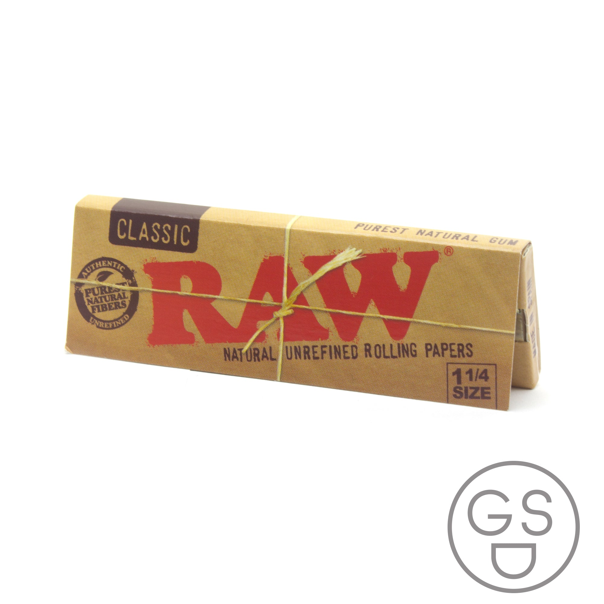 RAW 1 1/4 Unrefined Papers
