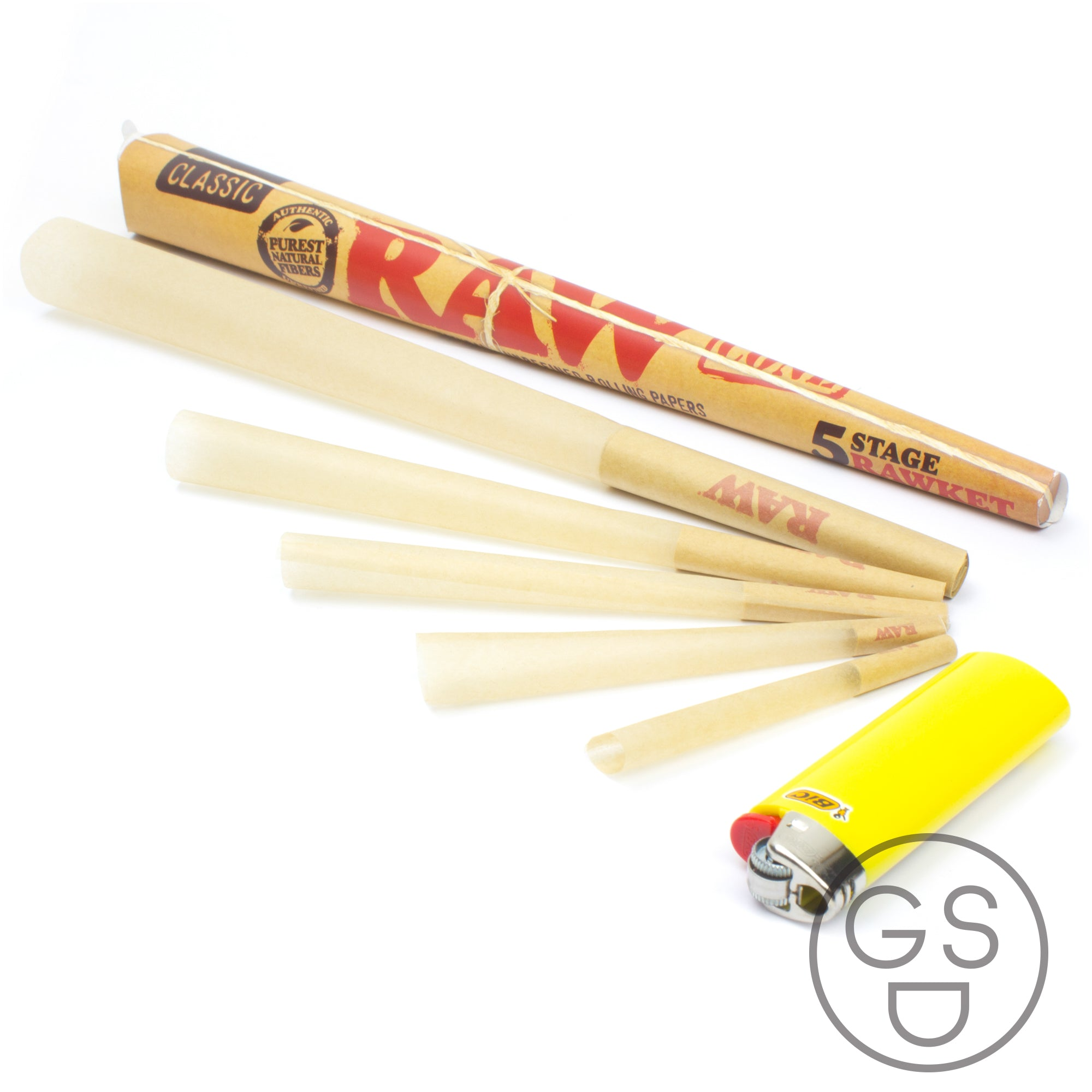 RAW RAWket Cone - 5 Stage Cone Pack