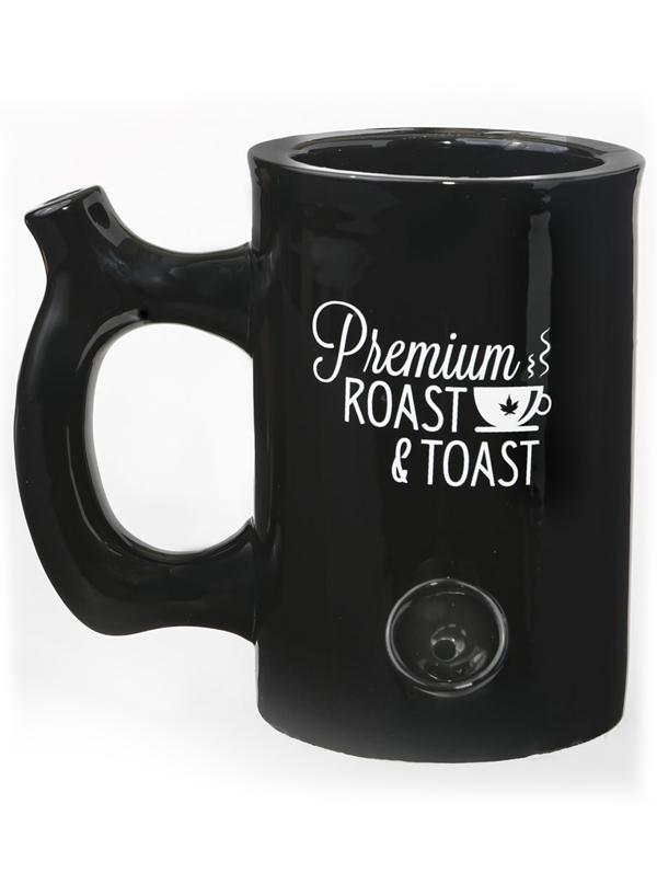 Premium Roast & Toast Ceramic Mug - Large
