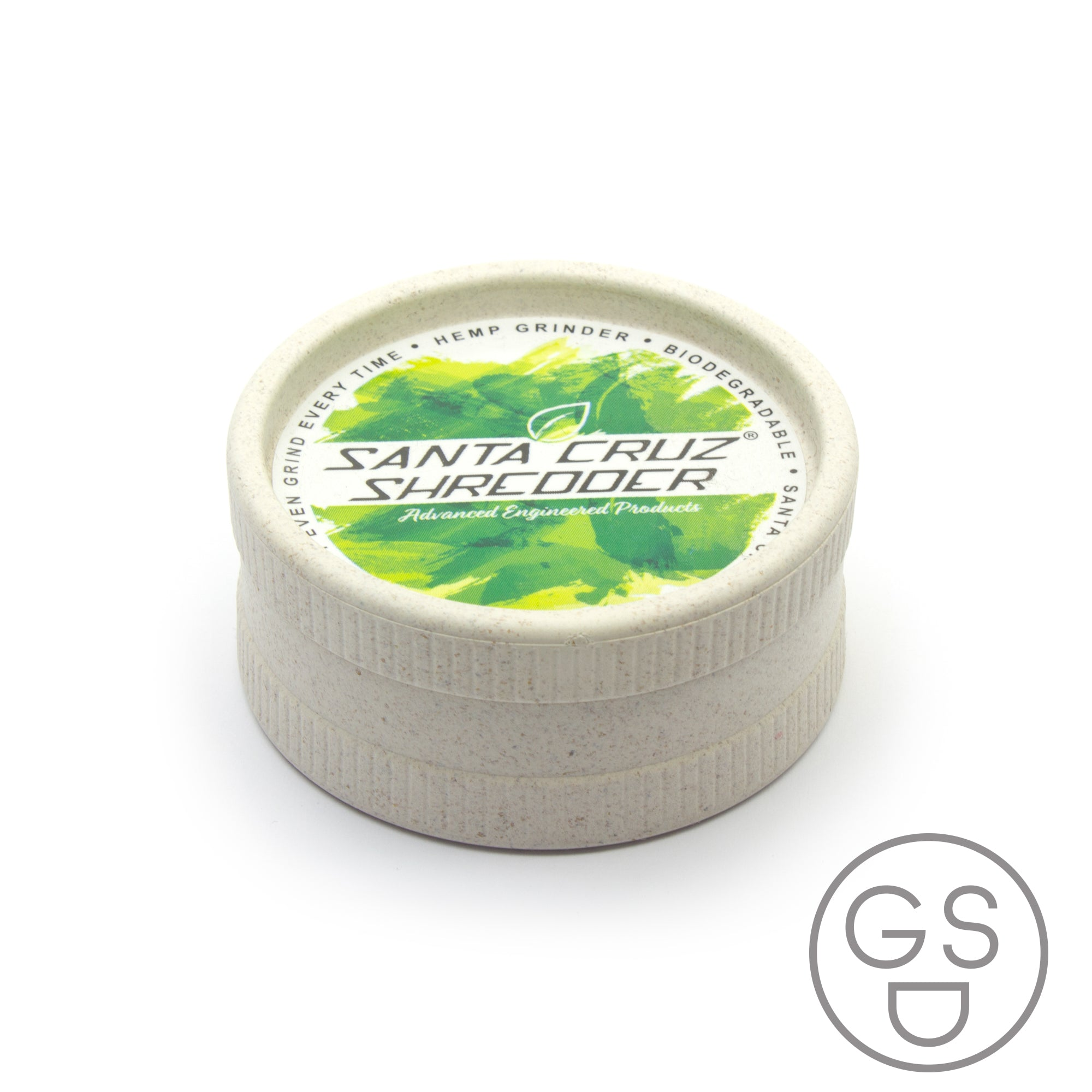 Santa Cruz Biodegradable Hemp 2pc Grinder
