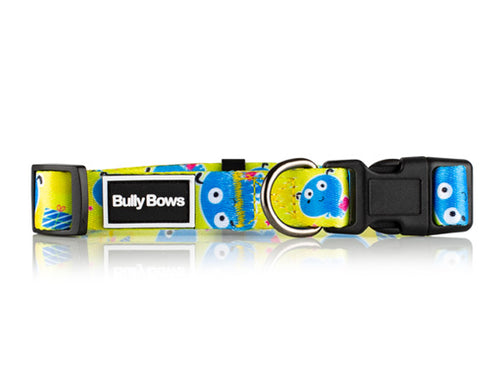 Bubble Cartoon Dog Collar
