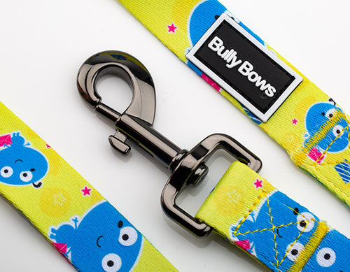 Cartoon Bubble Dogs Leash