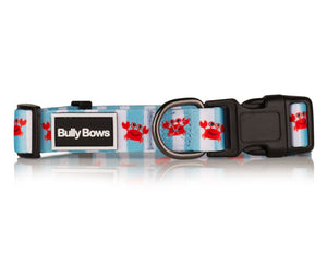 Crabby Crab Dog Collar