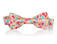 Vibrant Floral Bow Tie