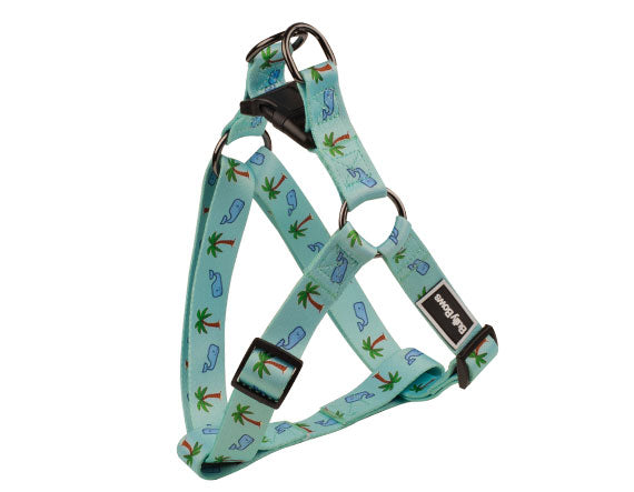 Whale & Palm Tree Harness