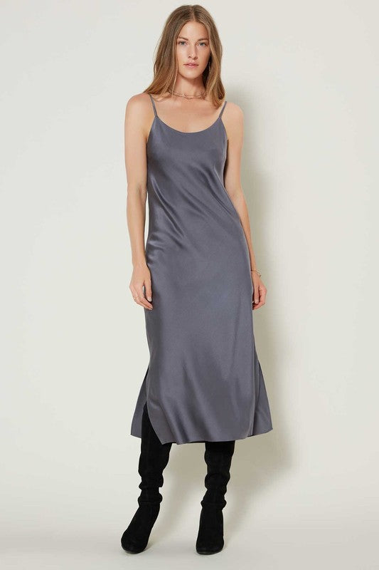 Sleigh Bells Dress- Slate