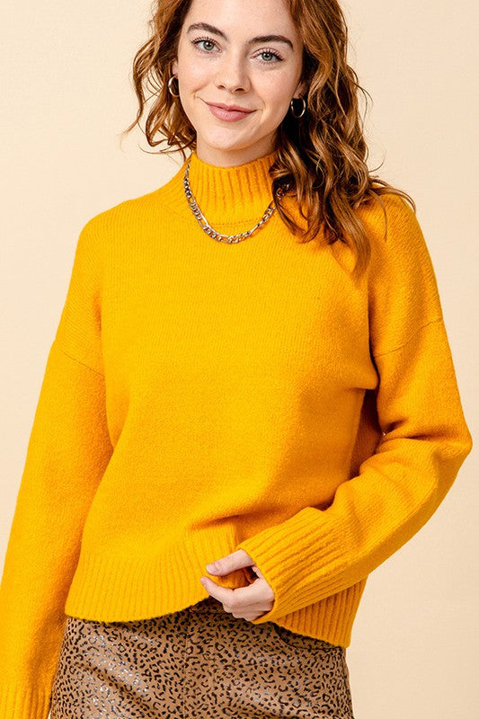 Sweet Caroline Sweater- Sunflower