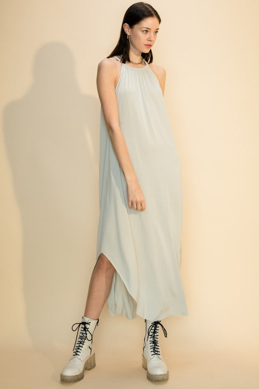 Taylor Dress - Pearl Grey
