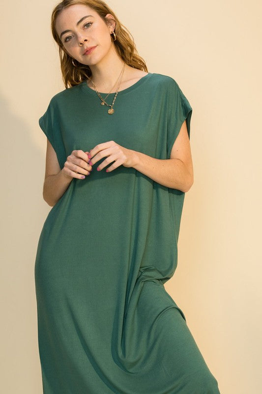 Christy Dress - Teal