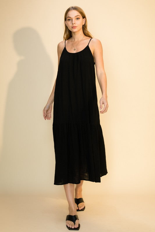 Black Gauze Dress