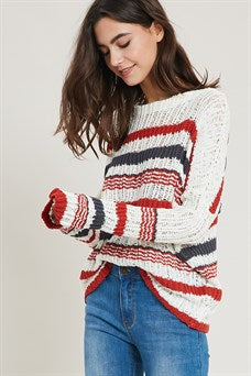 Ivory Combo Sweater