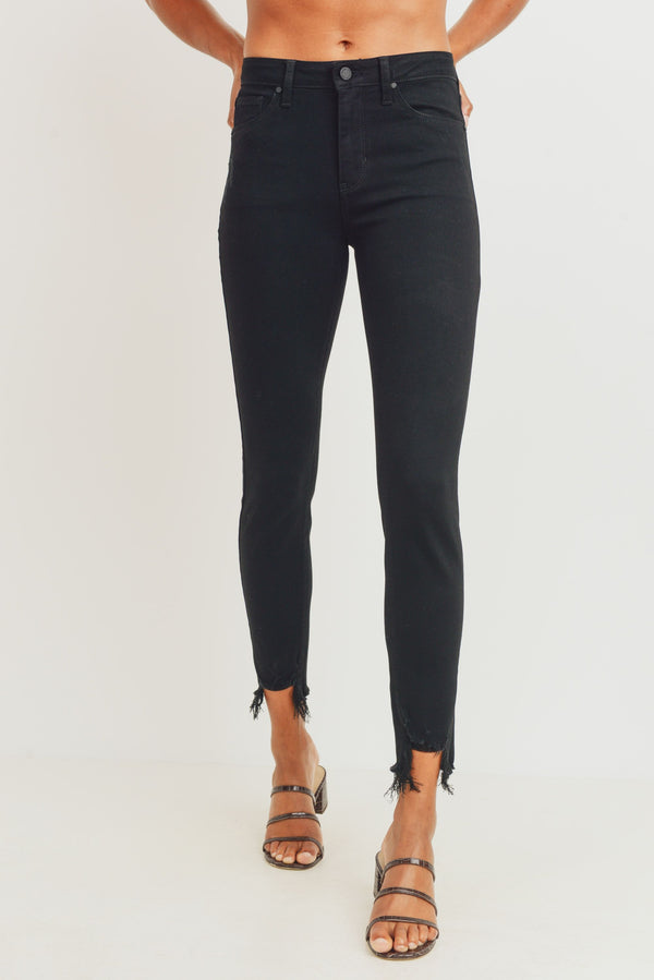JBD-High Rise Skinny - Black