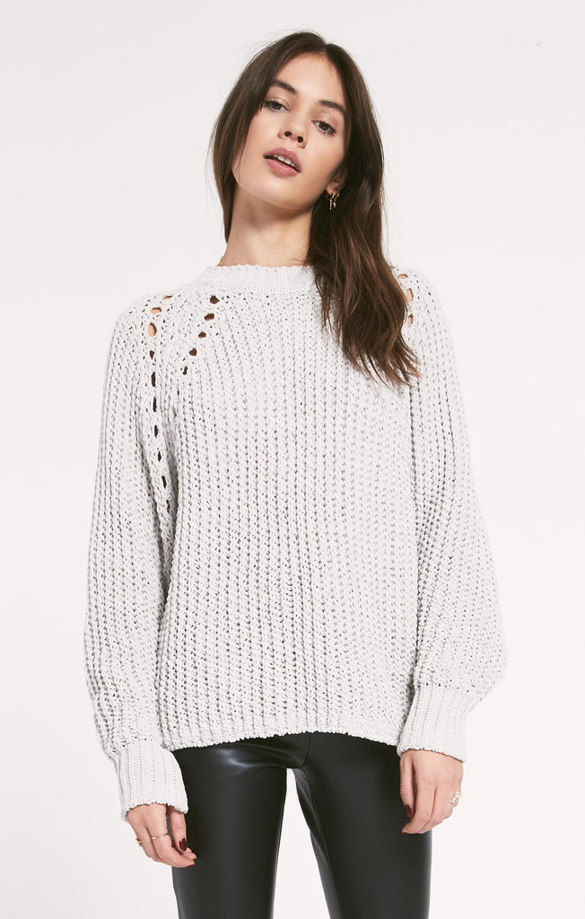 Promenade Sweater - Grey