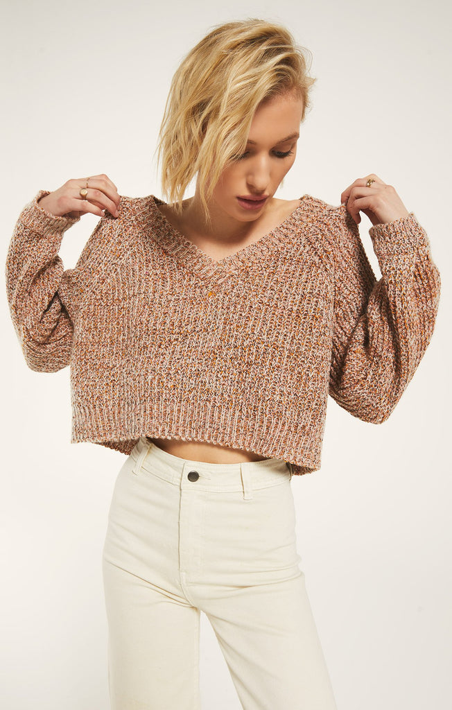 Rathaus Sweater - Baked Clay