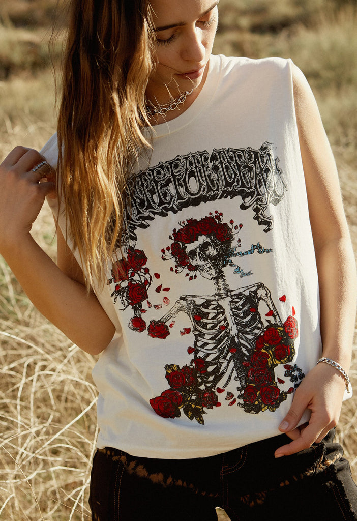 DAYDREAMER- Grateful Dead Bertha Rocker Muscle Tank