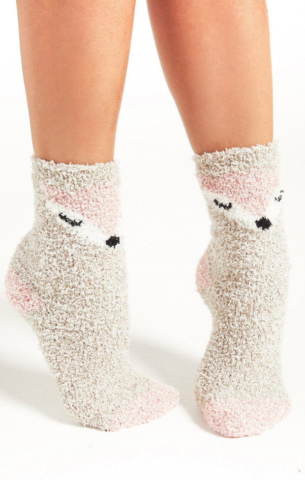 Foxy Plush Socks