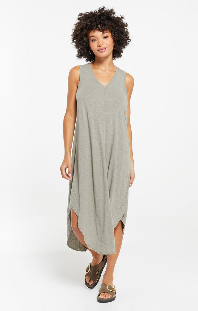 The Reverie Dress  - Dusty Sage