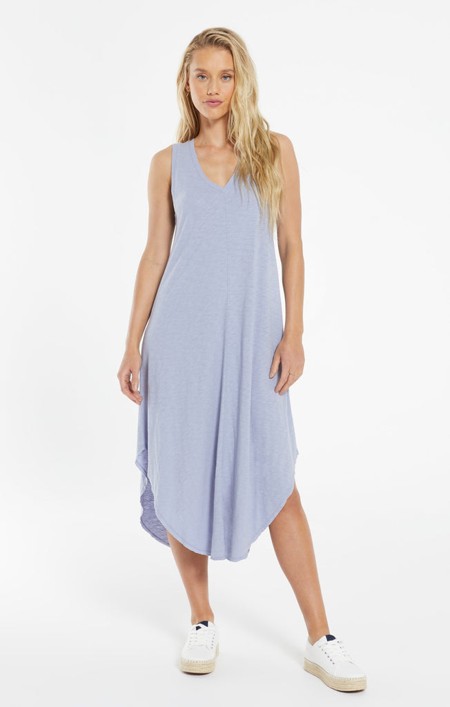 The Reverie Dress  - Lavender Grey