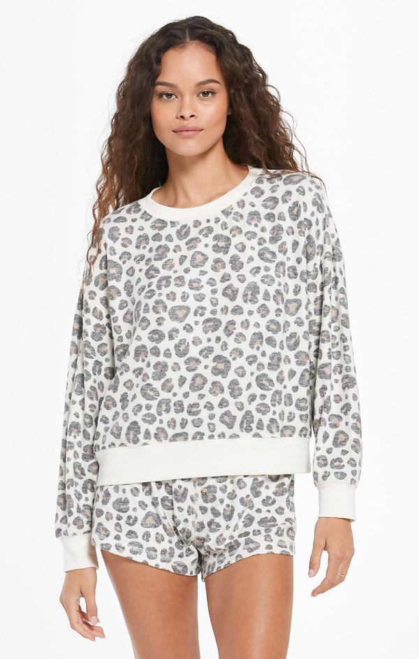 Elle Leo Top - Bone