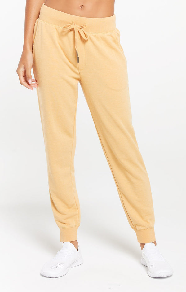 Cypress Loop Terry Jogger - Dandelion