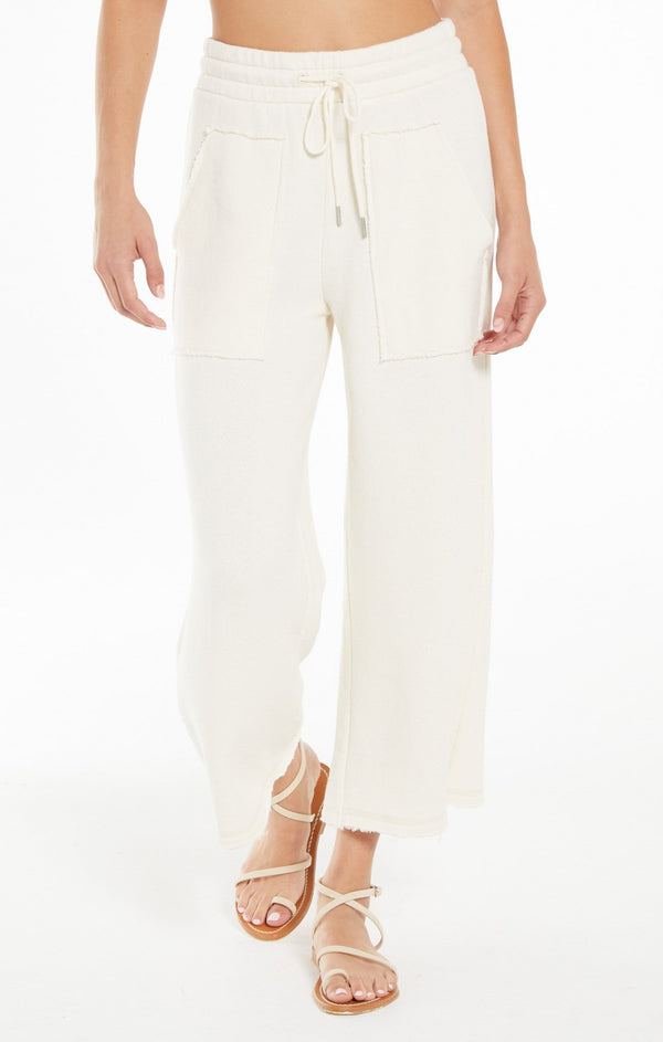 Paloma Loop Terry Pant - Sand Dollar