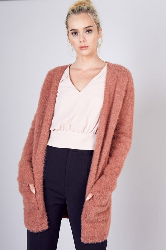 Wood Rose Cardigan