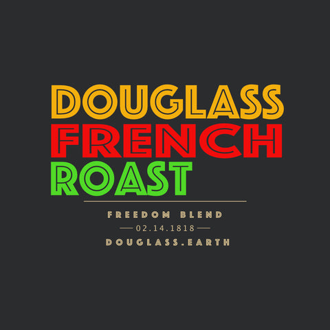 Douglass French Roast Freedom Blend Coffee 12 oz