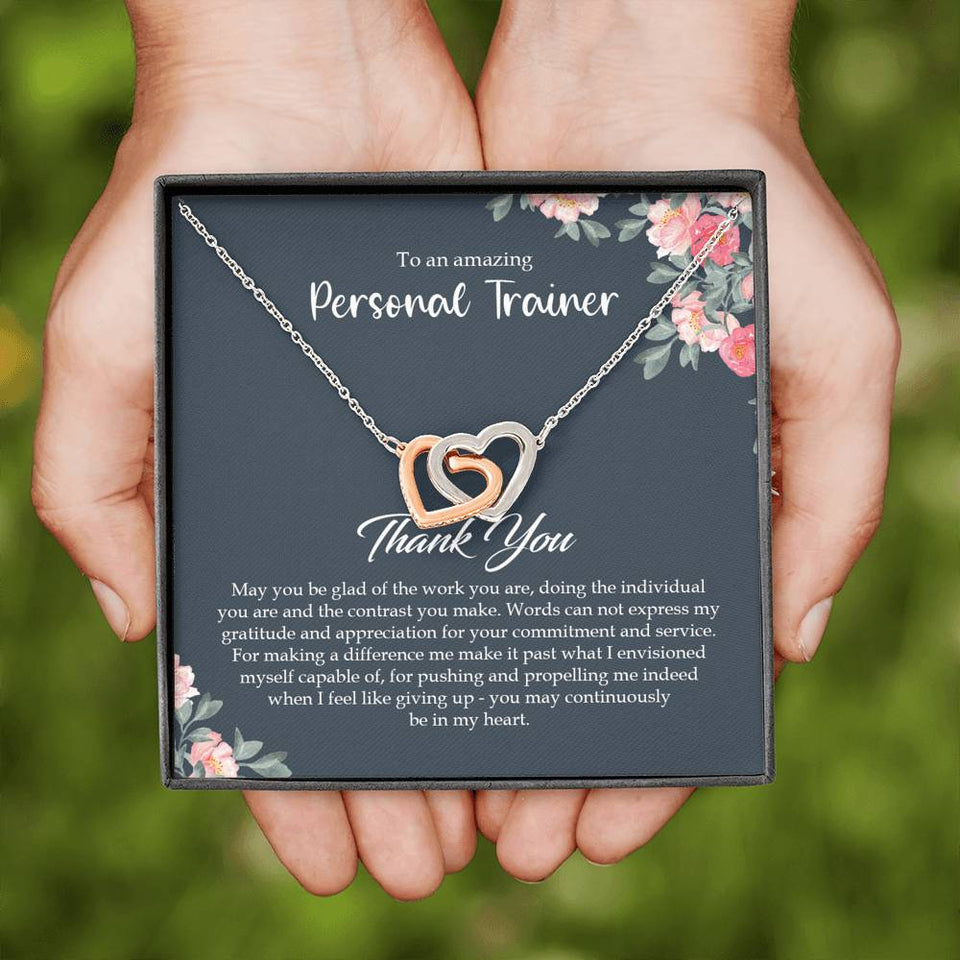 PERSONAL TRAINER GIFTS, FITNESS COACH GIFT, FITNESS TRAINER GIFT NECKLACE