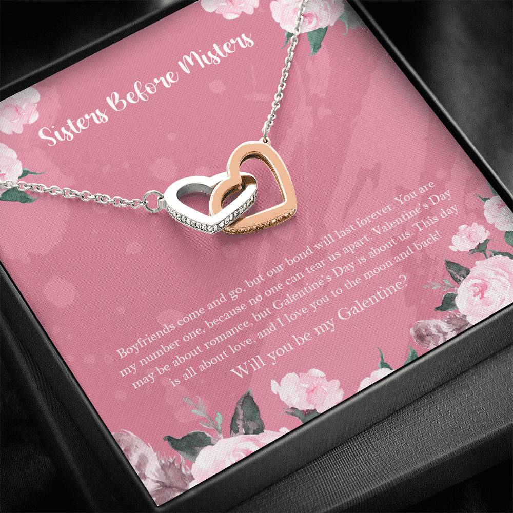 Galentine's Day Gift Necklace - Valentine's Day Present - Perfect for Best Friend, Galentine, Soul Sister, Women