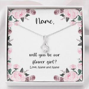 Flower Girl Proposal, Flower Girl, Will you be my Flower Girl, Flower Girl Puzzle, Flower Girl Gift Box, Proposal, Flower Girl Gift - Vnamus