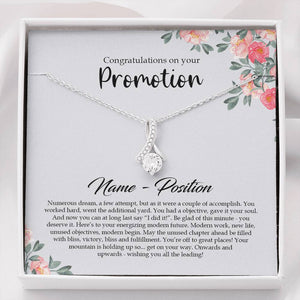 Job promotion Gift for Women, Congratulations Gift Promotion, Boss Promotion Card, Gift for Promotion
