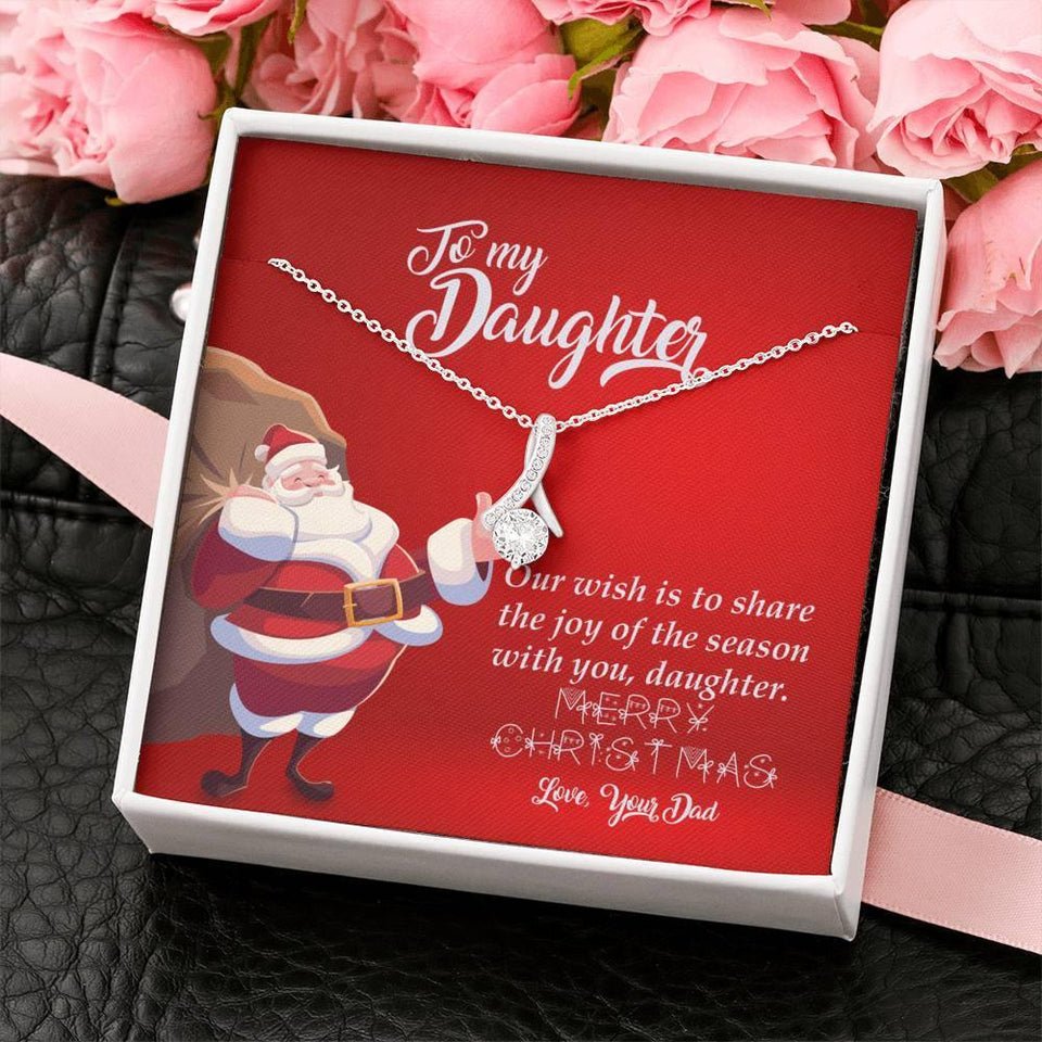 To my Dauther-Merry Christmas-Santa design - Vnamus