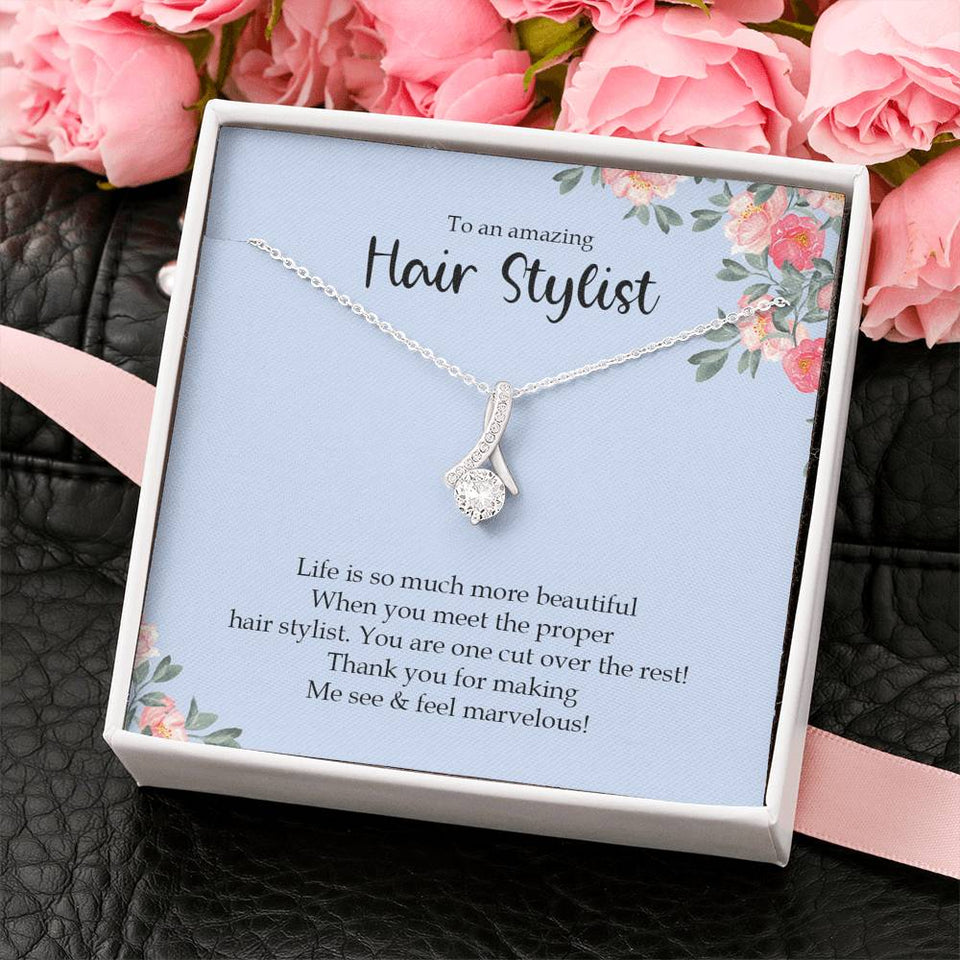 Hair Stylist Gift for Hairdresser gift for Hairstylist Thank You Gift Hair Dresser Appreciation Hair Stylist Jewelry Hairdresser Jewelry