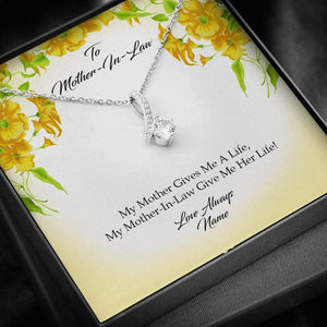 To Mother-In-Law Alluring Beauty Necklace - Vnamus