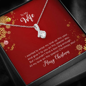 To my Wife- Wrap-heart-for-Christmas - Vnamus